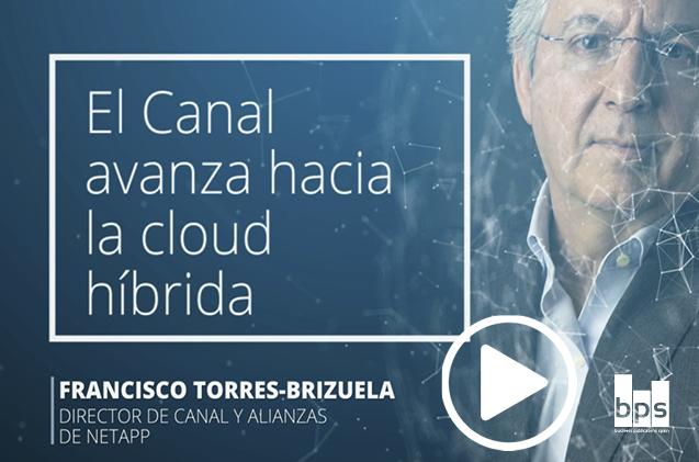 Francisco Torres-Brizuela, director de canal y alianzas de NetApp en España