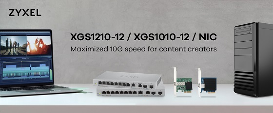 Nuevos switches Zyxel 10G para pymes.