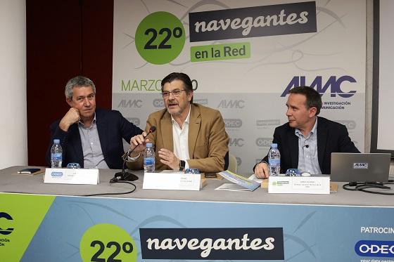 Presentación de la 22ª edición de la Encuesta AIMC a Usuarios de Internet, Navegantes en la Red.
