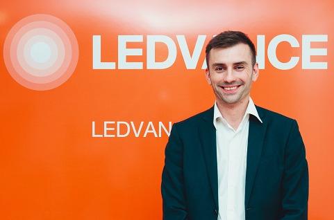 Alberto Casado, director de marketing de Ledvance España.