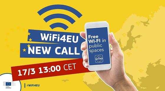 Cuarta y última convocatoria para WiFi4EU.