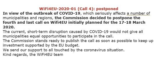 Comunicado remitido por la Comisión Europea.