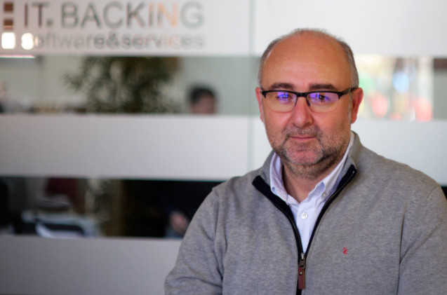 Vicente Pinardell, CEO de ITBacking.