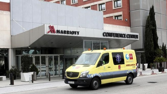 Hotel medicalizado en Madrid.