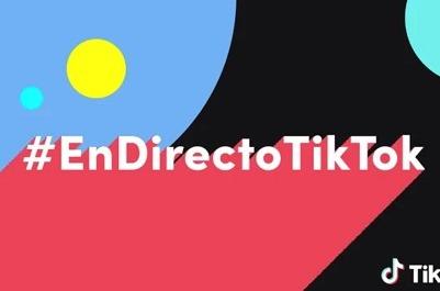 TikTok lanza #EnDirectoTikTok.