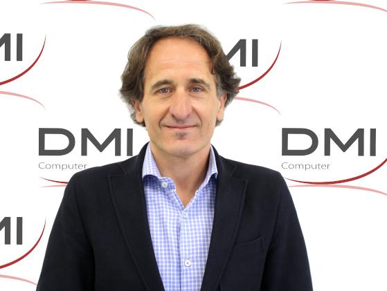 Emilio Sánchez-Clemente, fundador y gerente de DMI Computer.