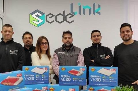 Sedelink elige los routers Fritz!Box para sus clientes de WiMAX.