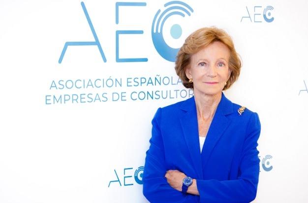 Elena Salgado, presidenta de la AEC.