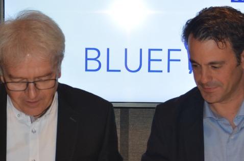 Esteban Gebhard, Socio-Consultor de Common MS, y Thilo Nagler, vicepresidente de ventas  en Central Europe en SNP