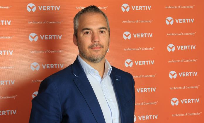 Miguel del Moral, director del negocio de canal de Vertiv