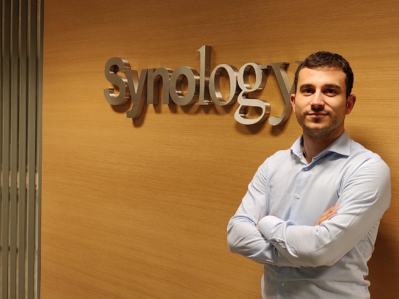 Iván Gento, de Synology.
