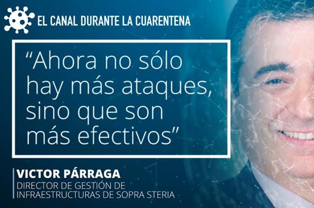 Víctor Párraga, de Sopra Steria.