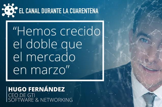 Hugo Fernández, CEO de GTI Software & Networking