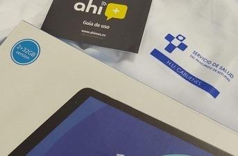 Donan al Hospital de Cabueñes (Gijón) 100 tablets con conexión a Internet.