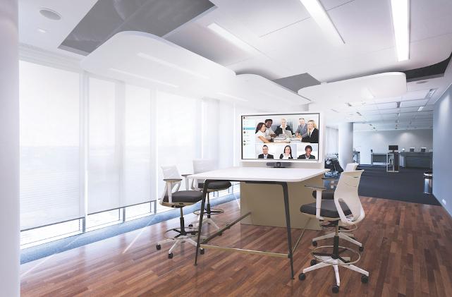 sala de videoconferencias Sharp