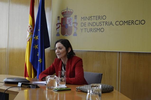 Reyes Maroto, ministra de Industria.