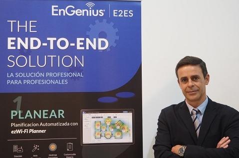 Jesús Yanes, director de Desarrollo de Negocio de EnGenius España.