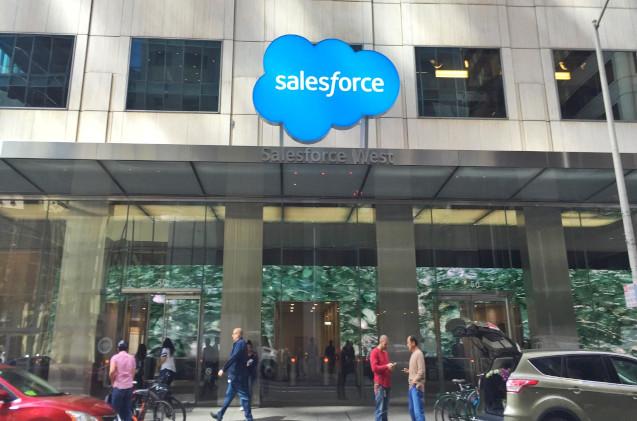 Oficinas de Salesforce en San Francisco.