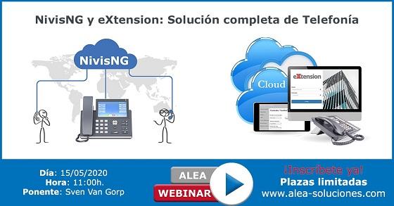 Webinar para operadores locales: Nivising y Extension.