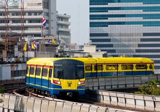 El monorraíl Gold Line de Bangkok se comunica por TETRA.