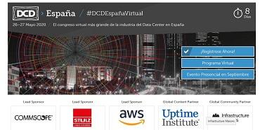 DCD>España 2020 Congreso Virtual: El congreso virtual más grande de la industria del Data Center en España