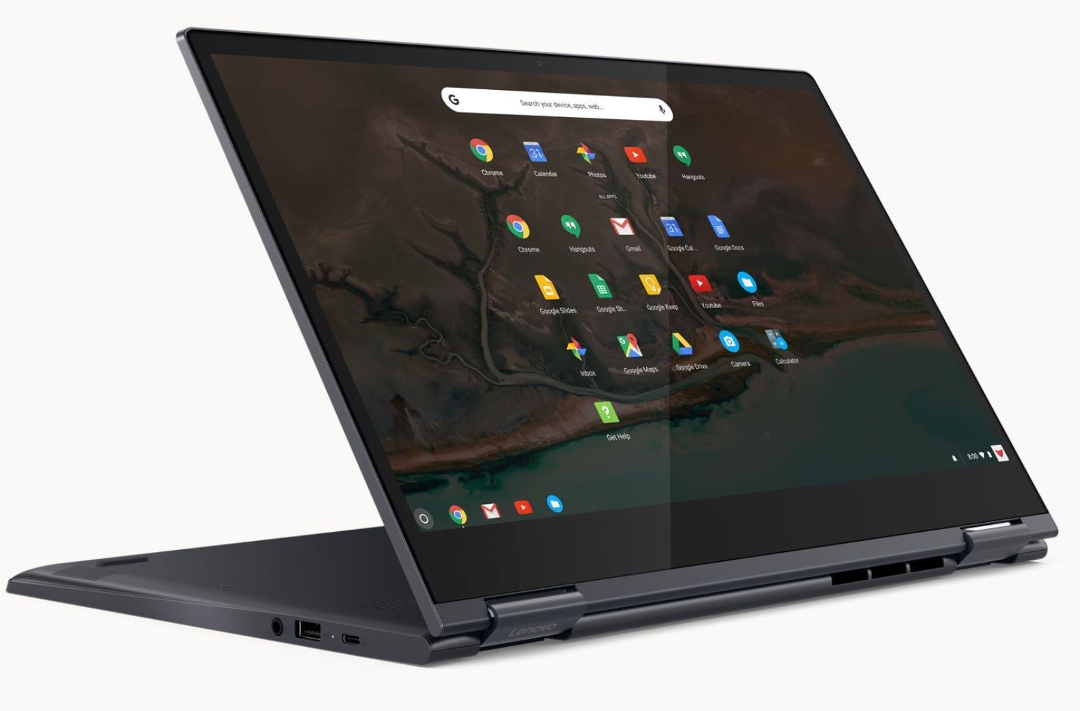 Chromebook Yoga de Lenovo.