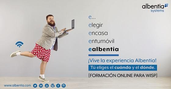 eAlbentia, formación online para operadores inalámbricos.