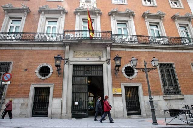 Sede del Ministerio de Justicia, en Madrid.