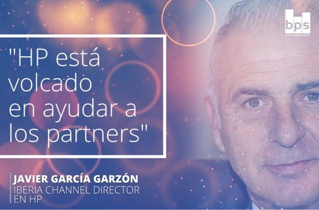 Javier García Garzón, Iberia channel director de HP