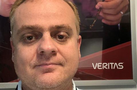Santiago Sánchez, channel technical sales de Veritas
