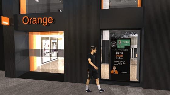 Orange apuesta por un innovador sistema de aforo.