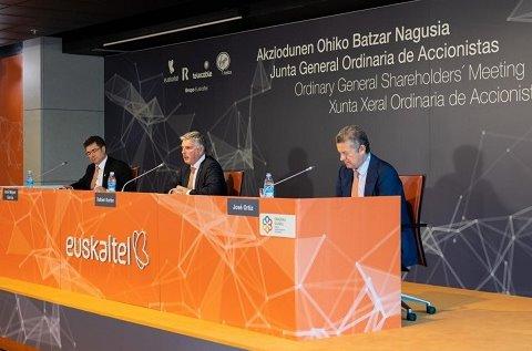 Junta General de Accionistas de Euskaltel.