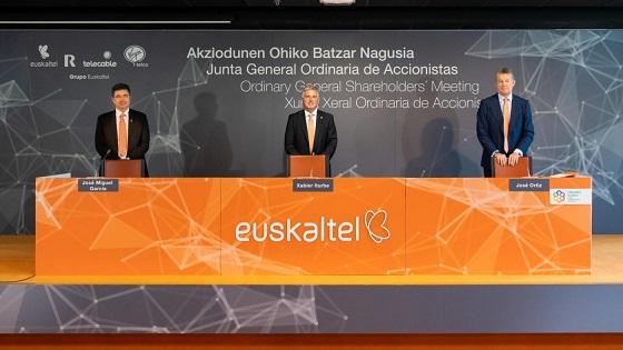 La Junta General de Accionistas de Euskaltel aprueba la hoja de ruta de la operadora.