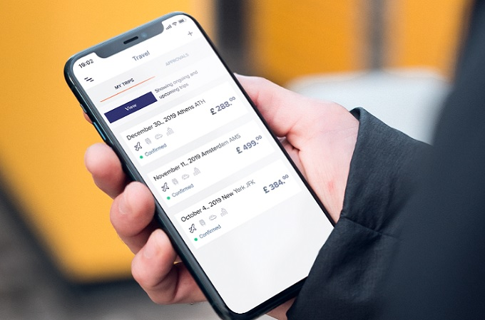 Aplicación de Rydoo para la gestión de facturas de empleados.