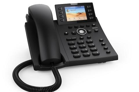 Nuevo teléfono Snom D335 con sensor de proximidad.