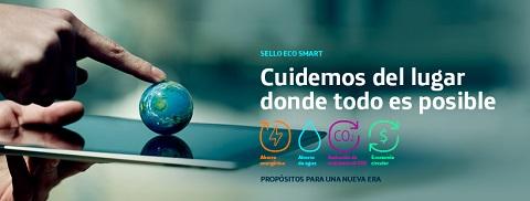 """Eco Smart, el sello """"verde"""" de Telefónica."""