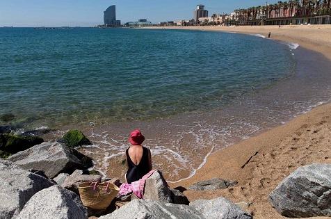 Tecnología Wi-Fi para controlar el aforo de las playas.