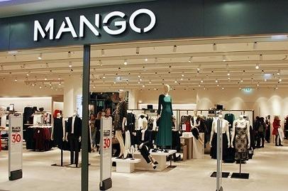 Tienda de Mango.