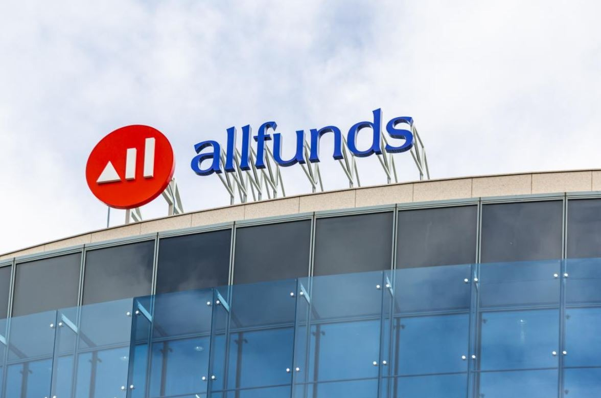 Logo del Allfunds Bank.