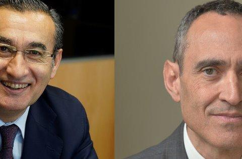 José María García, country manager de Esprinet, y Juan Pablo Rossi, fundador y propietario de GTI.