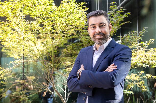 Enrique Ruiz, de Microsoft Ibérica.
