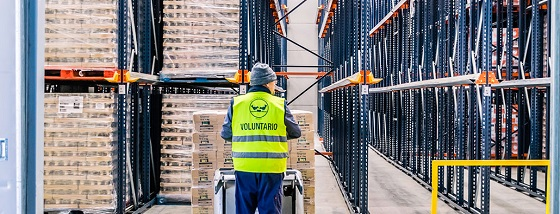 Los empleados de Orange donan 76.000 euros al Banco de Alimentos