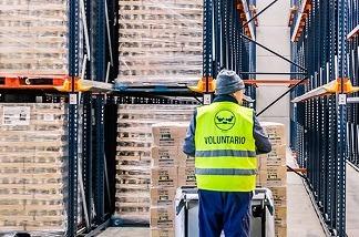 Los empleados de Orange donan 76.000 euros al Banco de Alimentos.