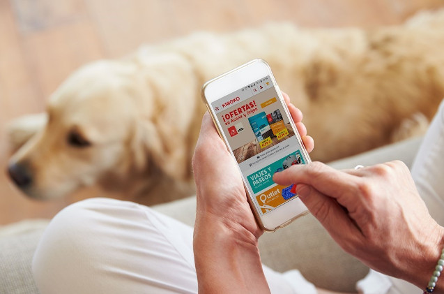 Aplicación de e-commerce de Kiwoko.