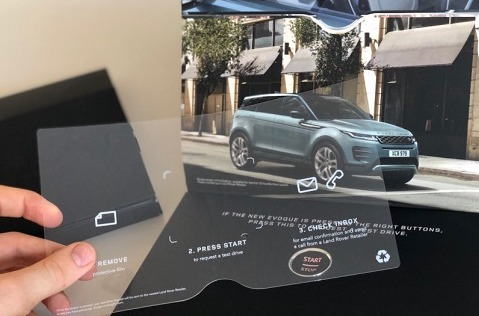 Land Rover lanza una campaña de marketing directo basada en IoT.