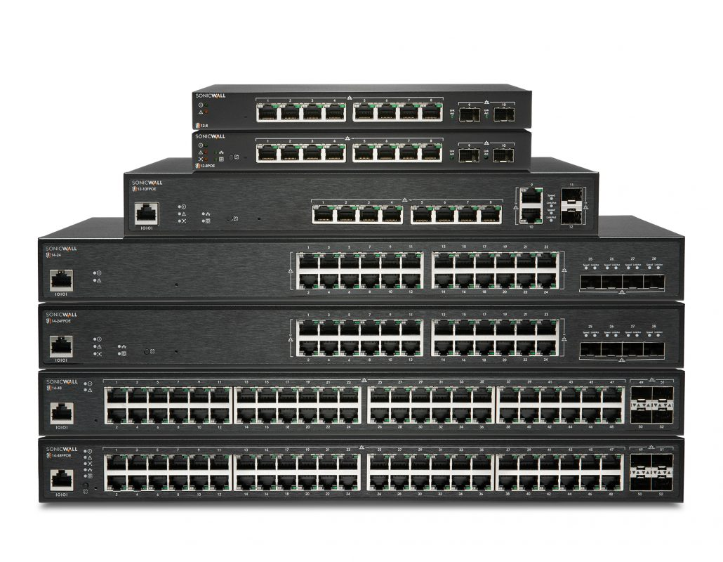 SonicWall Series Stacked