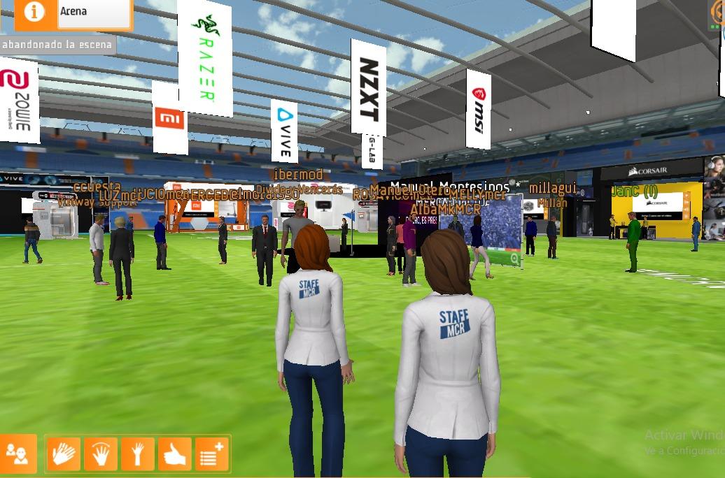 MCR Gaming Experience_Entorno virtual2