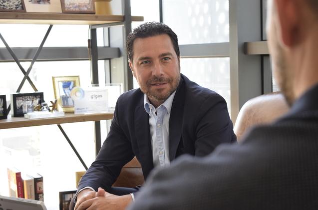 Diego Cabezudo, CEO de Gigas Hosting
