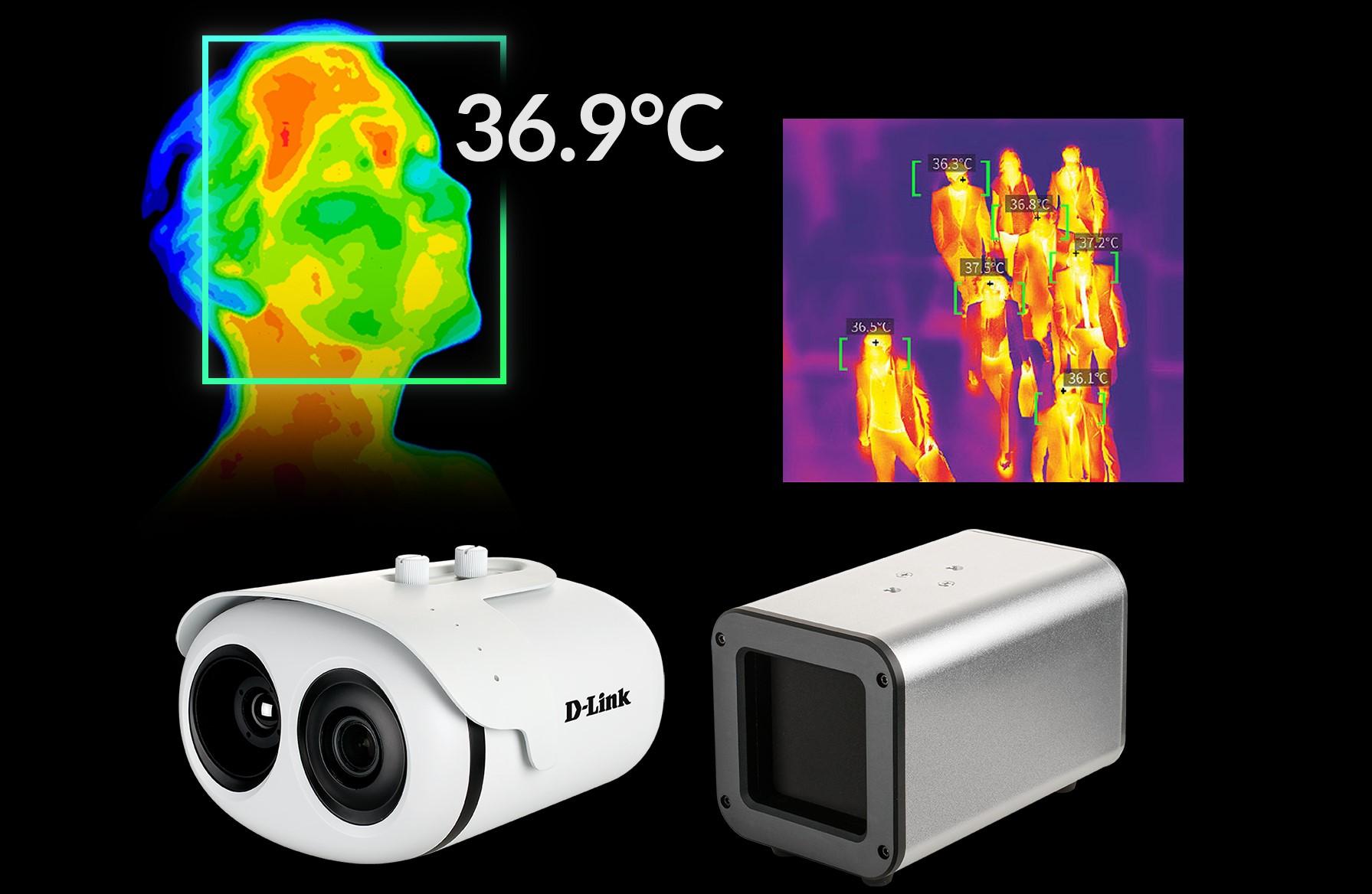 D-Link DCS-9500T, Kit de Cámara Termográfica y Calibrador BlackBody para el control de temperatura corporal en grupos.
