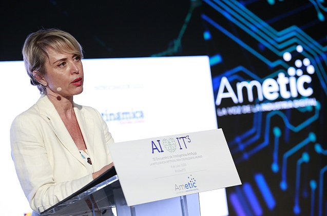 Carme Artigas, secretaria de Estado de Digitalización e Inteligencia Artificial.